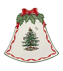 Spode® Ribbons Bell Shaped Plate