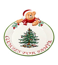 Spode® Teddy Bear Cookies For Santa Platter