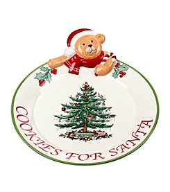Spode® Teddy Bear Cookies For Santa Platter