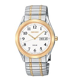 Seiko® Men's Two-Tone Expansion Watch