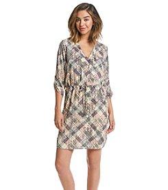 XOXO® Plaid Shirt Dress