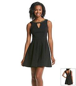 XOXO® Beaded Swing Dress
