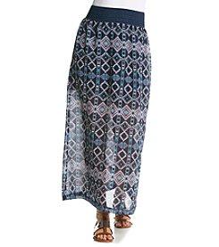Ultra Flirt® Crochet Maxi Skirt