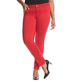 Celebrity Pink Plus Size Solid Skinny Jeans