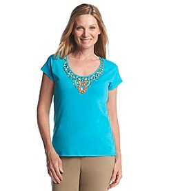 Ruby Rd.® Lush Life Embellished Knit Top