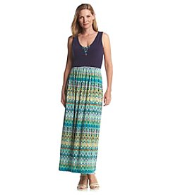 Ruby Rd.® Lush Life Printed Maxi Dress
