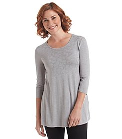 Laura Ashley® Animal Foil Tunic