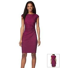 Chaps® Lace Day Dress