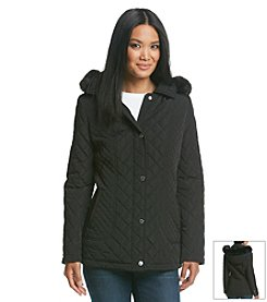 Calvin Klein Short Barn Quilt Coat