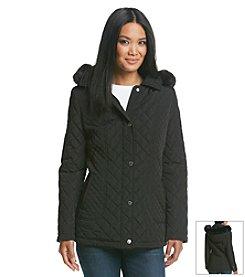 Calvin Klein Short Barn Quilt Coat