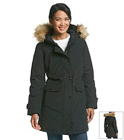 MICHAEL Michael Kors® Three-Quarter Full Zip Parka