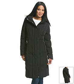 Calvin Klein Three-Quarter Coat With Vertical Seaming