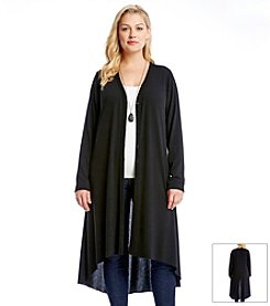 Karen Kane® Plus Size High Low Duster