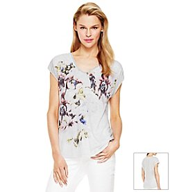 Vince Camuto® Abstract Burnout Tee