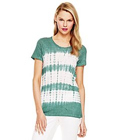 Vince Camuto® Short Sleeve Linen Top