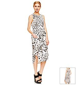 Vince Camuto® Spotted Lynx Dress
