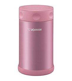 Zojirushi 25oz Shiny Pink Stainless Steel Food Jar