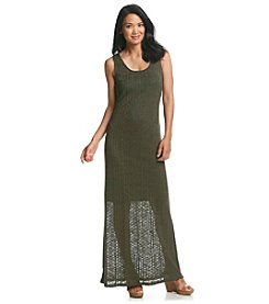 Bobeau Ribbed Maxi Dress