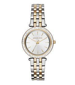 Michael Kors® Women's Two Tone Stainless Steel Mini Darci Watch