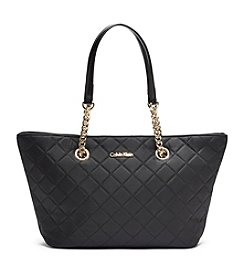 Calvin Klein Dressy Nylon Quilted Tote