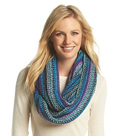 Collection 18 Lightweight Super Striped Loop Scarf