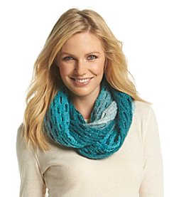 Collection 18 Hazy Honeycomb Stitch Loop Scarf