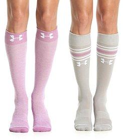 Under Armour® 2-Pack Knee High Socks