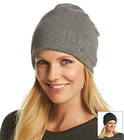 Cuddl Duds® Reversible Fleece To Jersey Beanie