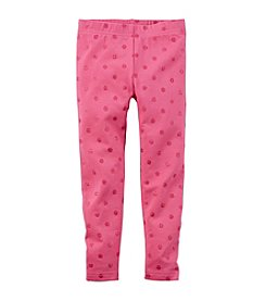 Carter's® Girls' 4-6X Glitter Dot Leggings