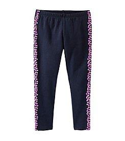 OshKosh B'Gosh® Girls' 2T-6X Puff-Stripe Leggings