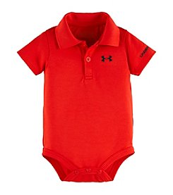 Under Armour® Baby Boys' 3-12 Month Solid Polo Bodysuit