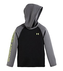 Under Armour® Baby Boys' Month Hoodie Waffle Top