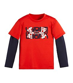 Under Armour® Baby Boys' Typographic Logo Layered Top