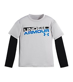 Under Armour® Baby Boys' Logo Layered Top