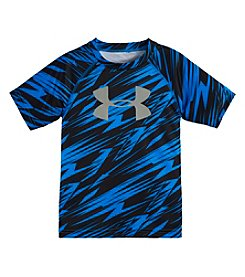 Under Armour® Boys' 2T-7 Lightning Crack Short Sleeve Tee