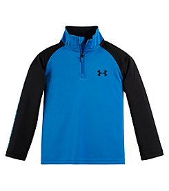 Under Armour® Boys' 2T-7 Long Sleeve Quarter Zip Top