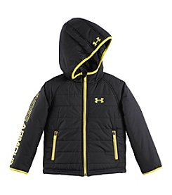 Under Armour® Boys' 2T-7 Logo Sleeve Jacket