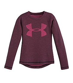Under Armour® Girls' 2T-4T Waffle Logo Tee