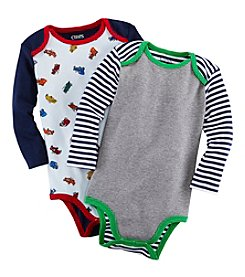 Chaps® Baby Boys' 3-24 Month 2-Pack Bodysuits