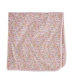 Chaps® Baby Girls' Paisley Print Blanket