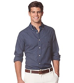 Chaps® Men's Long Sleeve Tattersall Twill Button Down Shirt