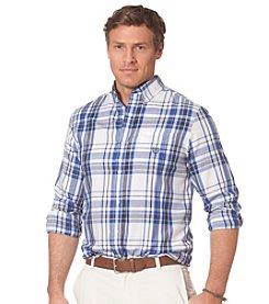 Chaps® Men's Long Sleeve Plaid Twill Button Down Shirt