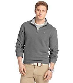 Izod® Men's Long Sleeve Suede Fleece 1/4 Zip Pullover