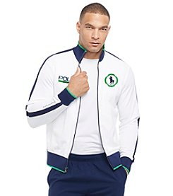 Polo Sport® Men's Long Sleeve Pique Full Zip Track Jacket