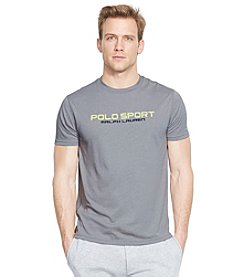 Polo Sport® Men's Short Sleeve Center Print Crewneck Tee