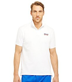 Polo Sport® Men's Short Sleeve Pique Mesh Polo