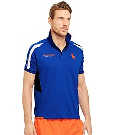 Polo Sport® Men's Short Sleeve Micro Dot Mesh Polo