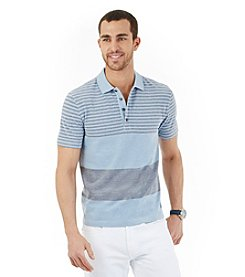 Nautica® Men's Short Sleeve Engineer Stripe Polo