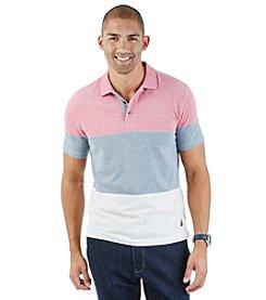 Nautica® Men's Short Sleeve Pieced Polo
