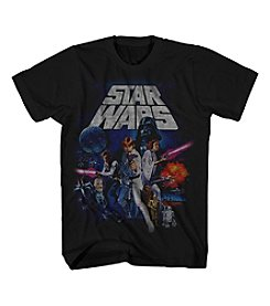 Mad Engine Men's Short Sleeve Star Wars Graphic Tee